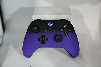 Microsoft Xbox One S Bluetooth Wireless Controller w/ST Purple Shadow Face