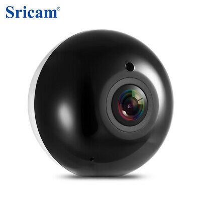 Sricam SP022 HD 960P Wireless WiFi IP Indoor Security Camera 360 Degree Panorama