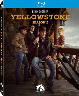 Yellowstone: Season Two - BLU-RAY - Kevin Costner - PRE ORDER for 11/05/19!