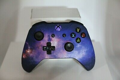 Microsoft Xbox One S Bluetooth Wireless Controller w/ST Starry Sky Face Plate