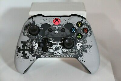 Microsoft Xbox One S Bluetooth Wireless Controller w/ST WWII German Army Face