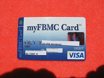 Vintage Old Credit: My Fbmc Card: Very Rear Card: Must Have For Any Collection!!