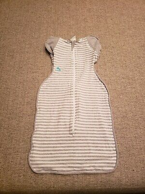 Love To Dream Swaddle UP, Gray, Large, 18.5-24 lbs., Dramatically better sleep