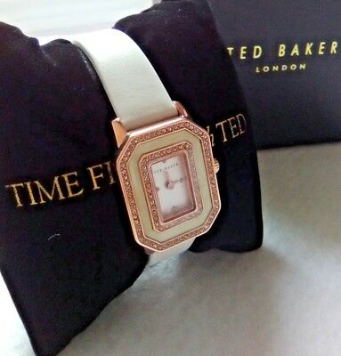 TED BAKER GLAM ANALOG Woman's QUARTZ WATCH (hard to find) NEW w/tags Great price