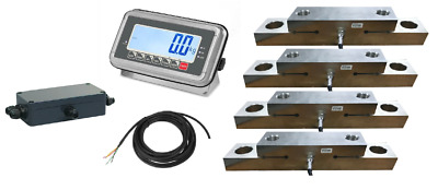 Onboard weighing Kit with 4 load cells etc