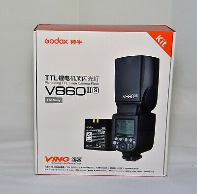 Godox V860II-S TTL II HSS 2.4G GN60 Li-ion Camera Flash Speedlite for Sony
