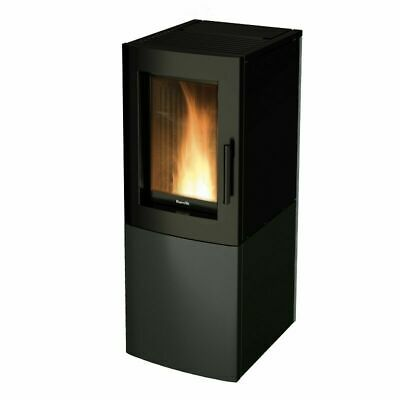 Stufa A Pellet RAVELLI CONVECTION ALFA Nero 7,2 kW
