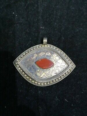 Solid  Sassanian Old Unique intaglio Agate Stone Stunning Pendent Ancient Roman
