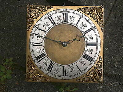C1720  30 H R  LONGCASE GRANDFATHER CLOCK DIAL+movement 11X 11  ROBERT DAVIS