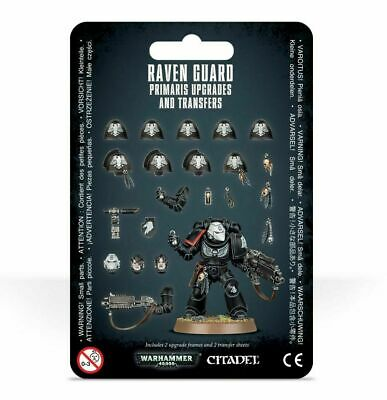 Warhammer 40K Raven Guard Primaris Upgrades and Transfers IN STOCK