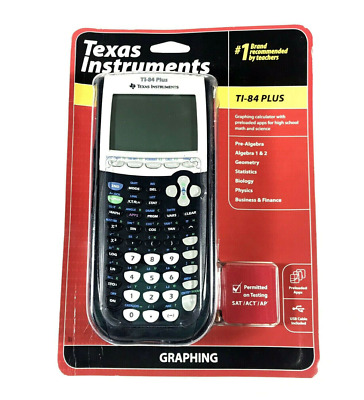 Texas Instruments TI-84 Plus Graphing Calculator Black New - FREE POSTAGE!!