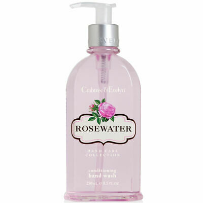 New Crabtree & Evelyn Rosewater Conditioning Hand Wash 8.5 fl oz