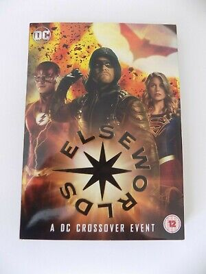 DC Elseworlds Brand New and Sealed Region 2 DVD (Arrow FLASH Supergirl)