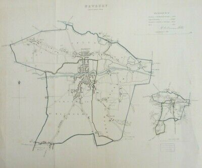 Vintage map of Newbury, proposal of new municipal borough boundary