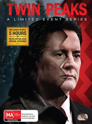 Twin Peaks - A Limited Event Series (DVD, 8-Disc Set) NEW
