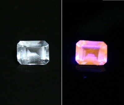 0.3ct Fluorescent Afghanite - Rare Clean Faceted Gem Quality Material