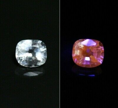 0.29ct Fluorescent Afghanite - Rare Clean Faceted Gem Quality Material