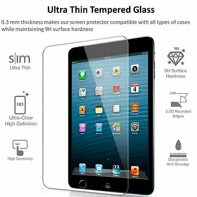 iPad Screen Protector Tempered Glass Film For Mini Air Pad 1 2 3 4 5 6 Apple Pad