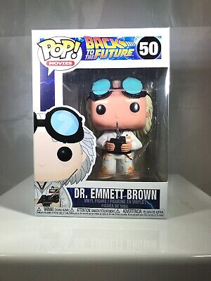 "Funko Pop! Movies: Back to the Future - Dr Emmett Brown ""Doc"" #50 Vinyl Figure"