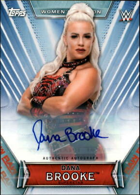 2019 Topps WWE Womens Division Wrestling Autograph & Relic Singles-Pick Ur Cards