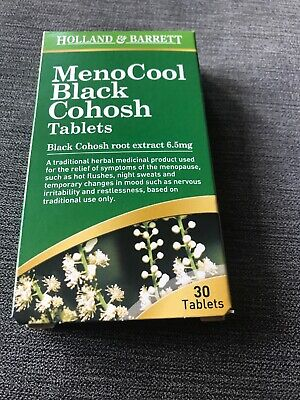 black cohosh tablets