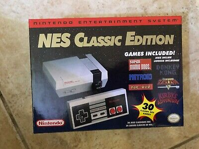 USED - READ - NES MINI Nintendo Classic Edition RETRO Game Console 8-bit