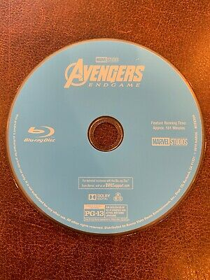 Avengers: Endgame (Blu-ray, 2019) Disc Only, No Case