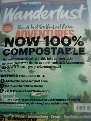WANDERLUST Magazine 197 june 2019 21 best south east asia New sealed