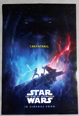 Star Wars The Rise of Skywalker original Movie 27x40 DS POSTER 2019 Lucas film