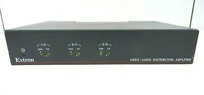 Extron DA6AVEQ Video/audio Distribution Amplifier used, Free shipping