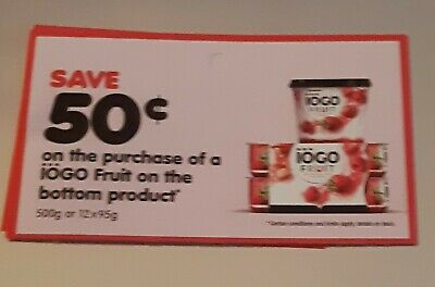 10x$0.50 off iogo fruit on the bottom products
