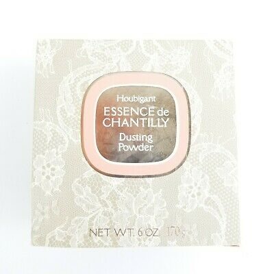 Essence de Chantilly Houbigant Dusting Powder 6 Ounces With Box