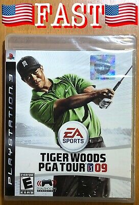 PS3 Game, Tiger Woods PGA Tour 09, Sony PlayStation 3, EA Sports - SEALED