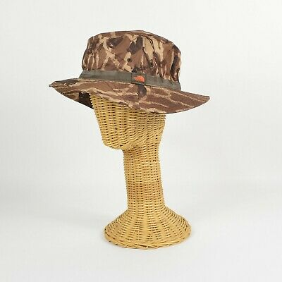 NORTH FACE Canyon Explorer Floating Bucket SUN HAT Mocha Bisque Gear Print Camo