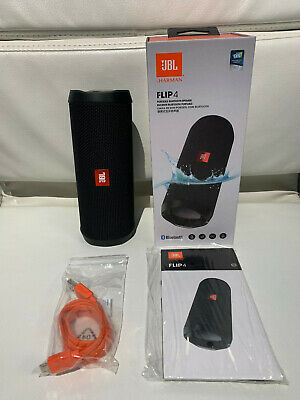 JBL Flip 4 Waterproof Portable Bluetooth Speaker - Black - battery issue -> READ