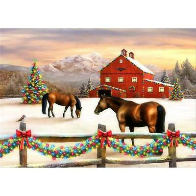 #D 5D DIY Full Drill Diamond Painting Christmas Cross Stitch Embroidery BEST