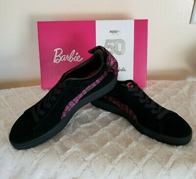Puma Barbie Suede Classic (BlackRed) 366337 01