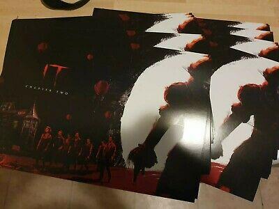 10 x Official IT Chapter Two Odeon Poster Part 1 of 2 (2019) A4 size