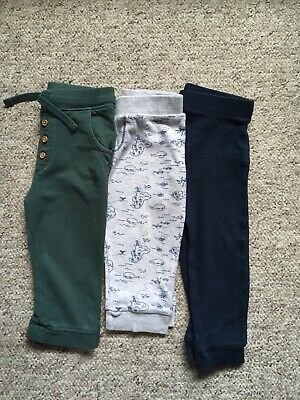 Boys F&F Joggers Trouser Bundle 12-18 Months