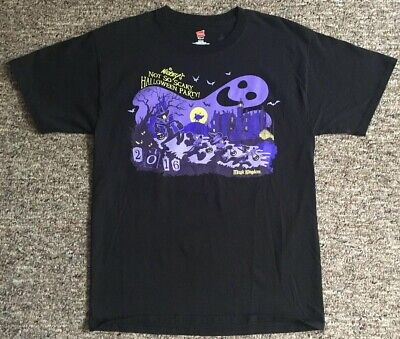 Disney Parks Mickeys Not So Scary Halloween Party 2016 T-Shirt Size Medium Black