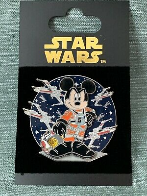 Star Wars Mickey Mouse as an X-Wing Pilot - 2007 Disney Pin Trading 53272