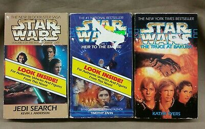 Star Wars Micro Machines Epic Heir to the Empire Truce at Bakura Jedi Search Lot