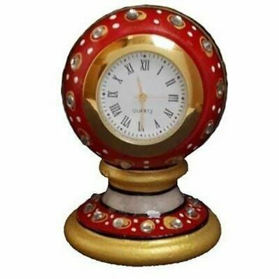 Good Quality Hand Made Antique Design Marble Clock For Office And Home