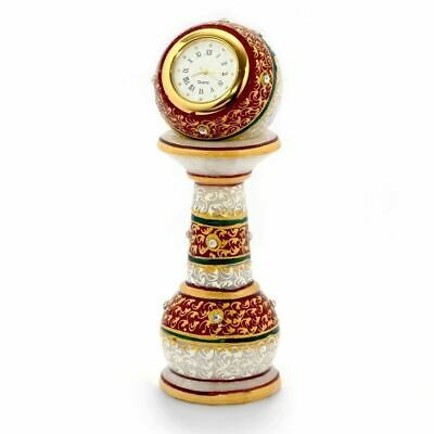 Best Quality Hand Made Marble Table Clock - Antique Design Clock