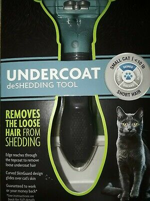 FURMINATOR deSHEDDING TOOL~SMALL CATS~UNDER 10 lbs~BRAND NEW~SEALED BOX~BID @ $7