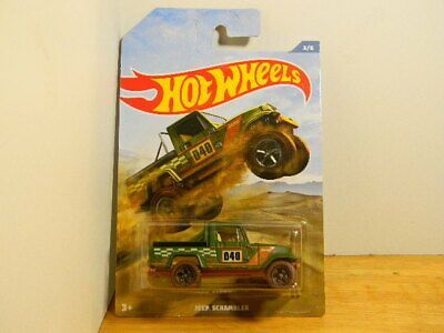 "2019 Hot Wheels, 3/6 Off-Road Truck Series ""JEEP SCRAMBLER"" New, Unopened"