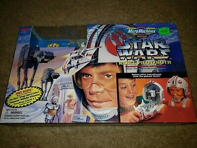 Micro Machines Star Wars Rebel Pilot/hoth still in box sci-fi Space action set