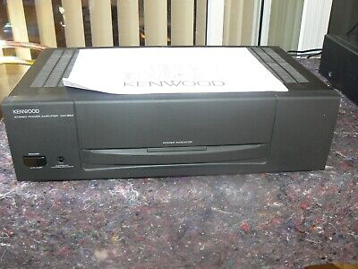 Kenwood Km-894 Vintage Power Amplifier, 100 Wpc, Very Good Condition