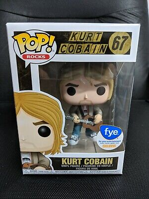 Funko Pop! FYE Exclusive Kurt Cobain #67