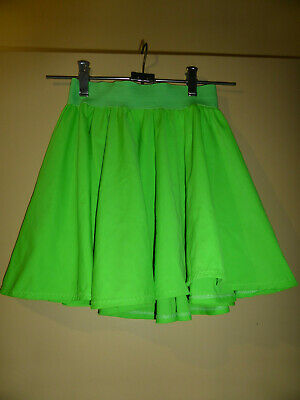 Dance Costumes 11 green full circle skirts Ladies 8 to 14